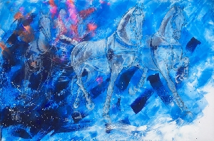 Dream Team Tableaux - Chevaux (horizontaux) - Graziella Bordignon